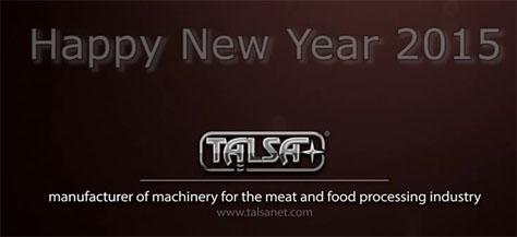 Feliz año nuevo 2015 - Talsa