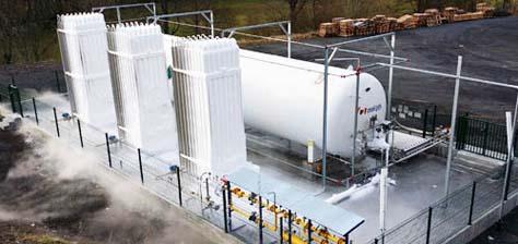 Planta GNL Molgas para Industria