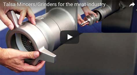 Talsa Grinders for the meat industry