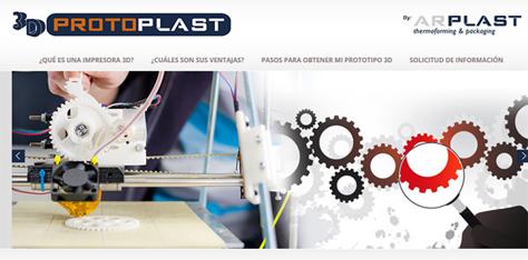 Prototipos e Impresión 3D - Protoplast 3D