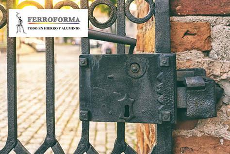 Ferroforma, fabricacion de puertas de hierro