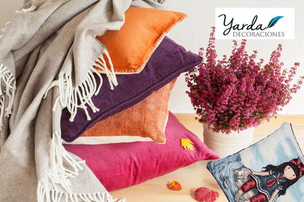 Cojines - Yarda - Decoraciones