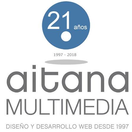 Aitana Multimedia cumple 21 años ofreciendo servicios Web