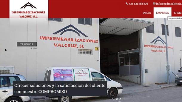 Impermeabilizaciones Valcruz, venta y distribución de EPDM