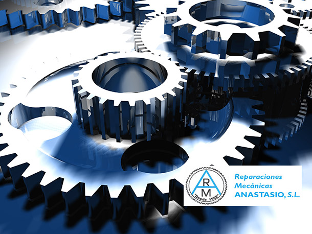 RM Anastasio fabricación y tallado de engranajes