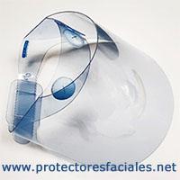 Pantallas faciales de protección