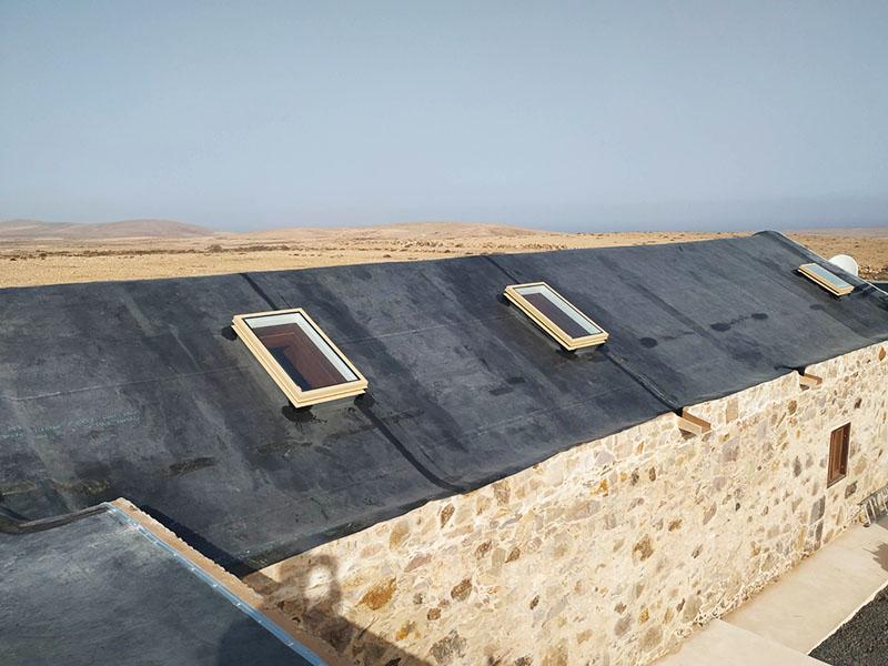 Impermeabilización de tejado con EPDM